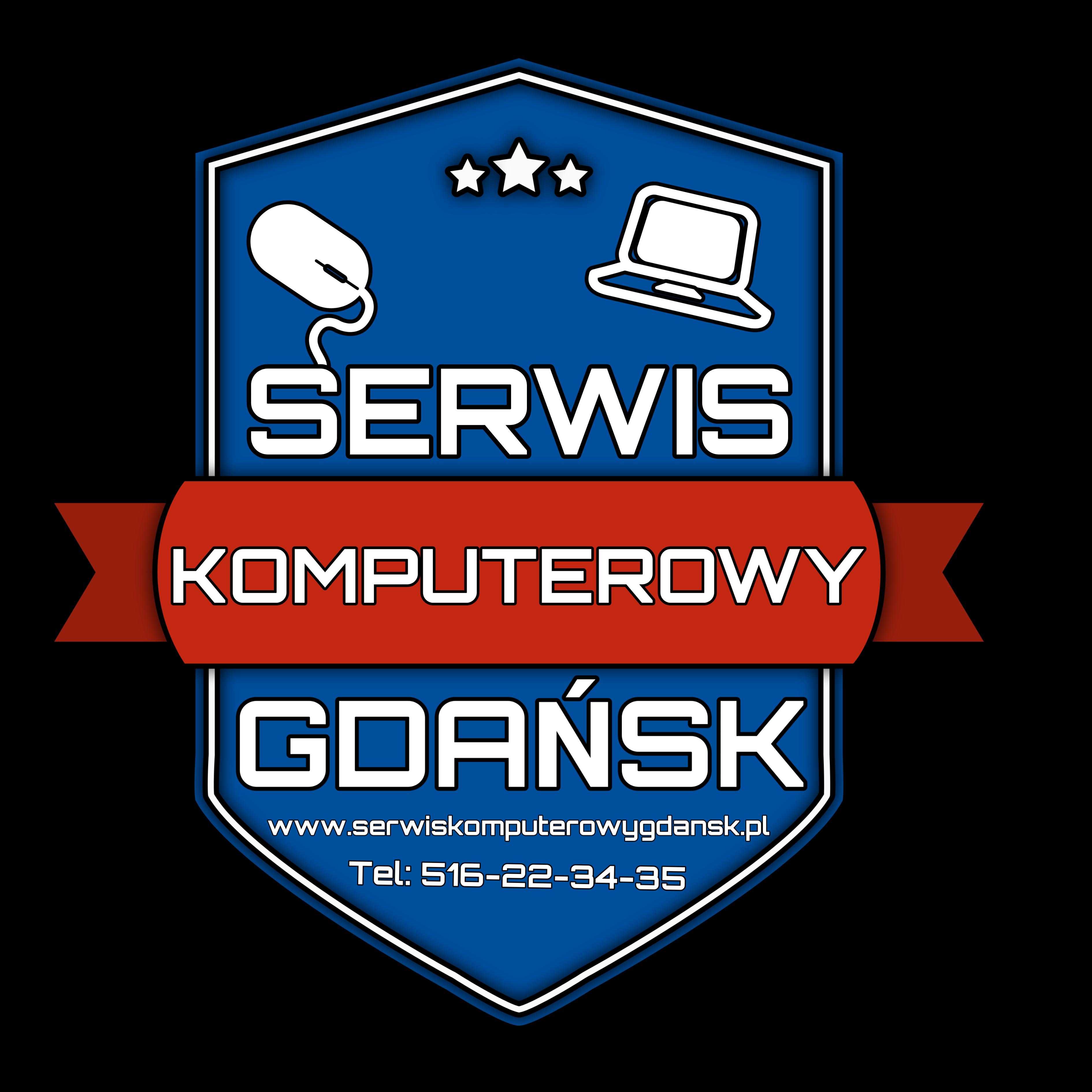 Serwis Komputerowy Gdańsk Kamil Wdowiak Tel: 516 22 34 35